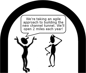 Using agile for a tunnel